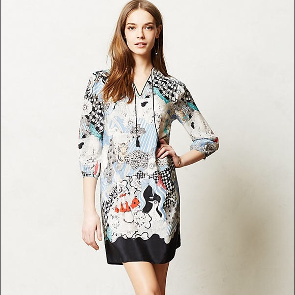 522933dd0cc13 Anthropologie Dresses   Skirts - Anthropologie Florence Balducci Cleo silk  tunic L