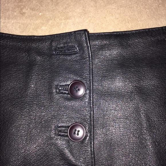 newport news newport news s leather skirt size 4