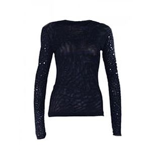 Narciso Rodriguez Tops - 🆕 Narciso Rodriguez ITALY Sequin Sleeve Top 🆒