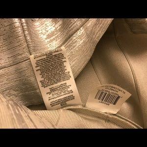 Herve Leger Dresses - Herve leger silver Bridget dress