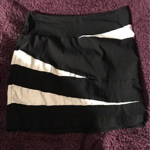 Addiction Dresses & Skirts - Black & White Skirt
