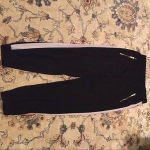 Guess White Stripe Jogger pants