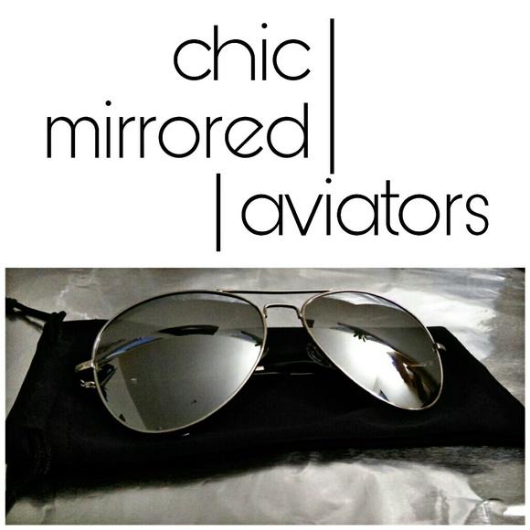 1eyed 1der boutique Accessories - Mirrored Aviators