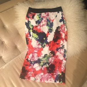 Milly Dresses & Skirts - NWT!!! MILLY Women's Long Skirt Floral Design, XS