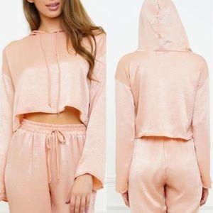 Fashion Nova Other - ✨ 🆕 Gold-Mauve Hoodie Set ✨