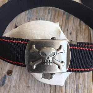 Other - Boys Belt with Pirate Buckle
