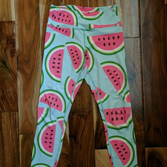 b3eeb26b4a6bc Flexi Lexi Fitness Pants | Watermelon Flexi Lexi Yoga | Poshmark
