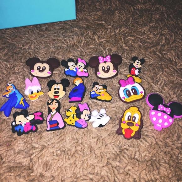 6pc Disney Crocs Jibbitz Charms Bundle