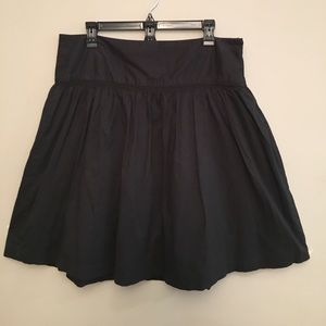 Size 12 black skirt.