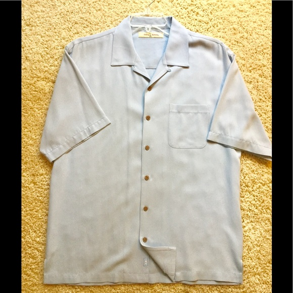 75 off tommy bahama other men 39 s 100 silk camp shirt for Custom tommy bahama shirts