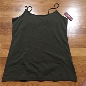 Green Tank Top- Arizona Jeans