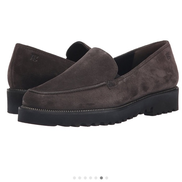 53 off paul green shoes paul green ariana platform loafer in grey suede from courtney 39 s. Black Bedroom Furniture Sets. Home Design Ideas