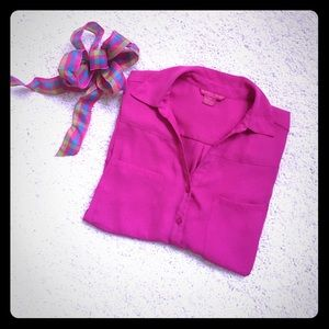 Bright Fuchsia Shirt