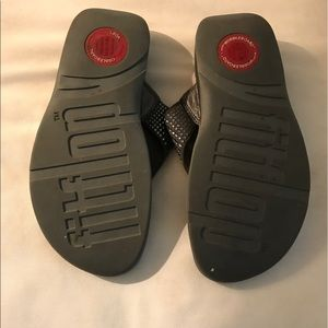 8402201ab FitFlop Shoes - FitFlop. Swavorski rockstar Charcoal gray Sz.7