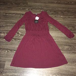 bobeau Dresses & Skirts - Cold shoulder dress
