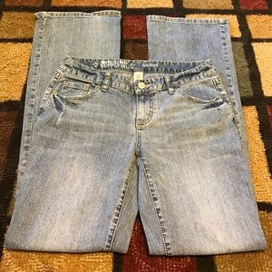 Mossimo boot cut jeans 9r