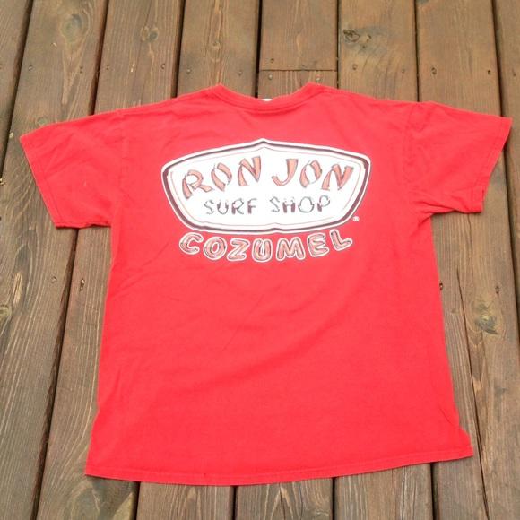 Ron jon rom jon surf shop cozumel t shirt from keenan 39 s for Surf shop tee shirts