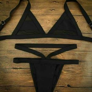 Other - Black Cheeky Bathing Suit