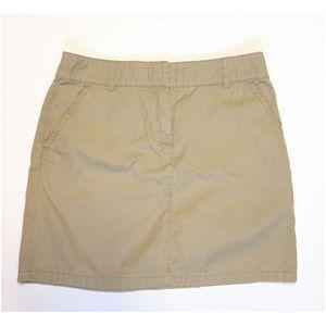 J. Crew Dresses & Skirts - J. Crew Khaki Skirt