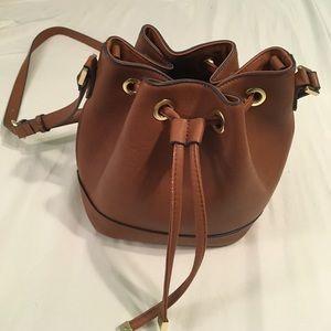 Merona Handbags - Large Brown Bucket Bag