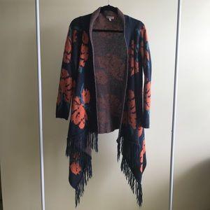 Woven Heart cardigan
