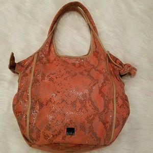 Kooba Handbags - Large & Pretty KOOBA Python Hobo Bag