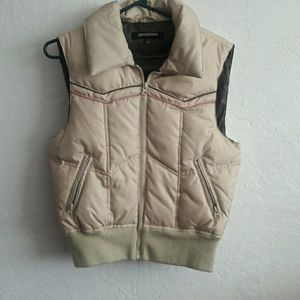 CoffeeShop Jackets & Blazers - Super cute tan vest