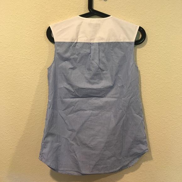 J. Crew Tops - J. Crew jeweled sleeveless blouse top