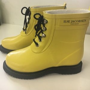 Ilse Jacobsen Shoes - New Ilse Jacobsen Hornbaek Yellow Rain boots EU 36