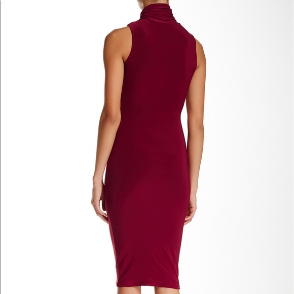 Missguided Dresses - Misguided Burgundy Dress