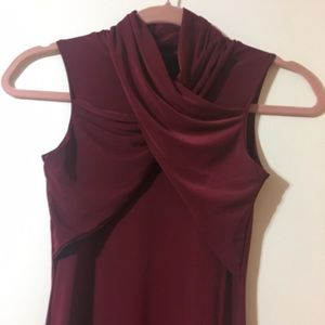 Missguided Dresses - PRICE REDUCED Misguided Burgundy Dress