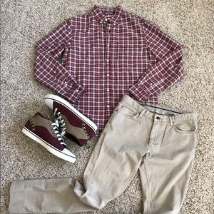 Denim & Supply Ralph Lauren Other - Denim & Supply Ralph Lauren Red Plaid Longsleeve