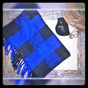 Old Navy Other - NWOT {Old Navy} Men's Blue Buffalo Scarf