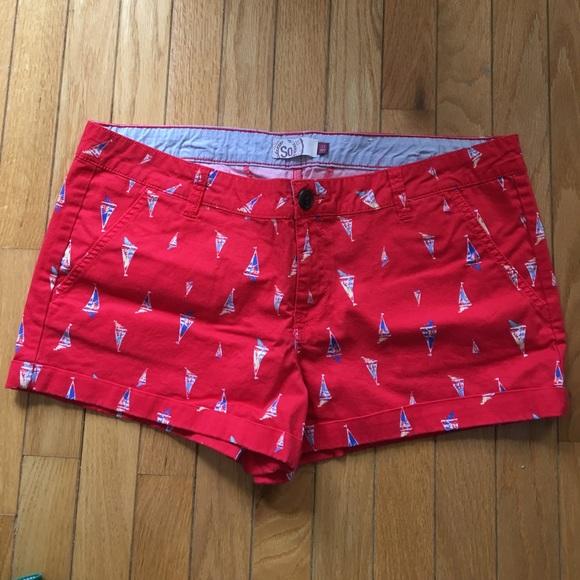 SO Shorts - Sailboat Shorts ⛵️ worn once!