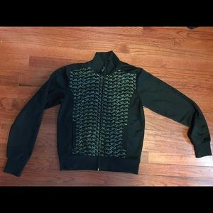 Black and gold Rocawear zip up shirt /jacket
