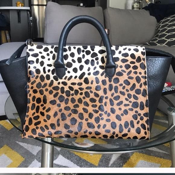 c29f17df73b2 Clare Vivier Handbags - Clare vivier leopard print tote bag sandrine