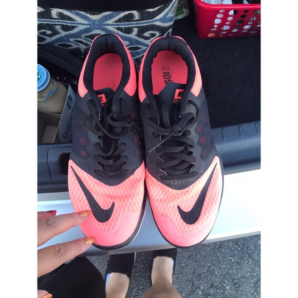 on sale 10f81 2069d Used Nike FS lite run 3 peach size 7.5. M 5907696936d5946fc30f246a