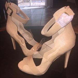 Paper Fox Shoes - Super cute and sexy nude heels NWOT!!