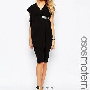 ASOS Maternity Asymmetric Contemporary Midi Dress