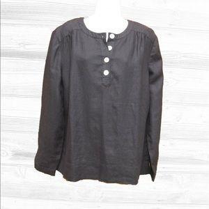 Orvis Tops - Orvis Linen Blouse Tunic-14/16
