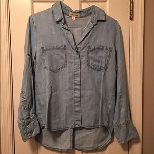 NEVER WORN- Chambray shirt!! By Cloth & Stone
