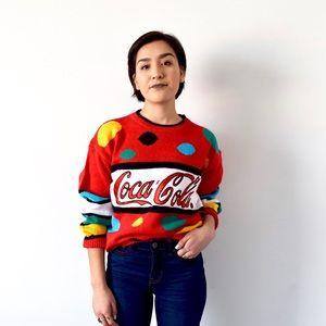 Vintage Coca Cola Sweater