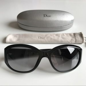 Christian Dior Accessories - Christian DIOR SWAROVSKI NIGHT Black Sunglasses!!!
