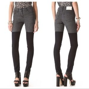Surface to Air Denim - Surface to Air Horizontal Super Skinny Jeans S2A