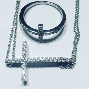 Evolving Always Jewelry - 🆕925 Sterling Silver Bracelet and Ring Set