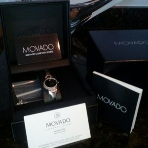 Jewelry - (SOLD!!!) Movada Watch (7.5')