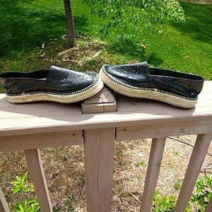 just fab Shoes - Espadrilles, snake skin look, just fab