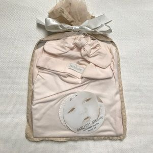 Barefoot Dreams Other - Barefoot Dreams infant gown hat deluxe set