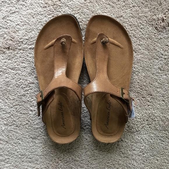 Sage Flat Brown Sandal