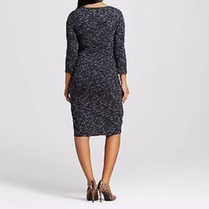 Liz Lange for Target Dresses - NWT Ruched Side Maternity Sweater Dress